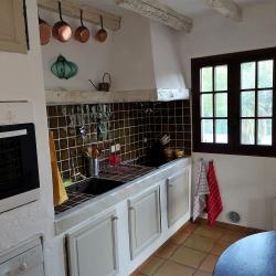 Kitchen holiday house SINE TEMPORE VENCE