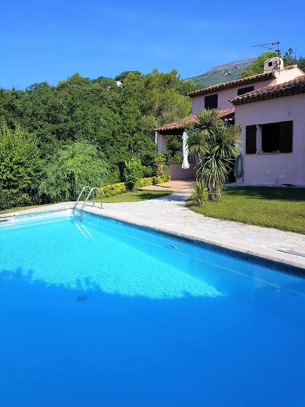 Swimming pool holiday house SINE TEMPORE VENCE