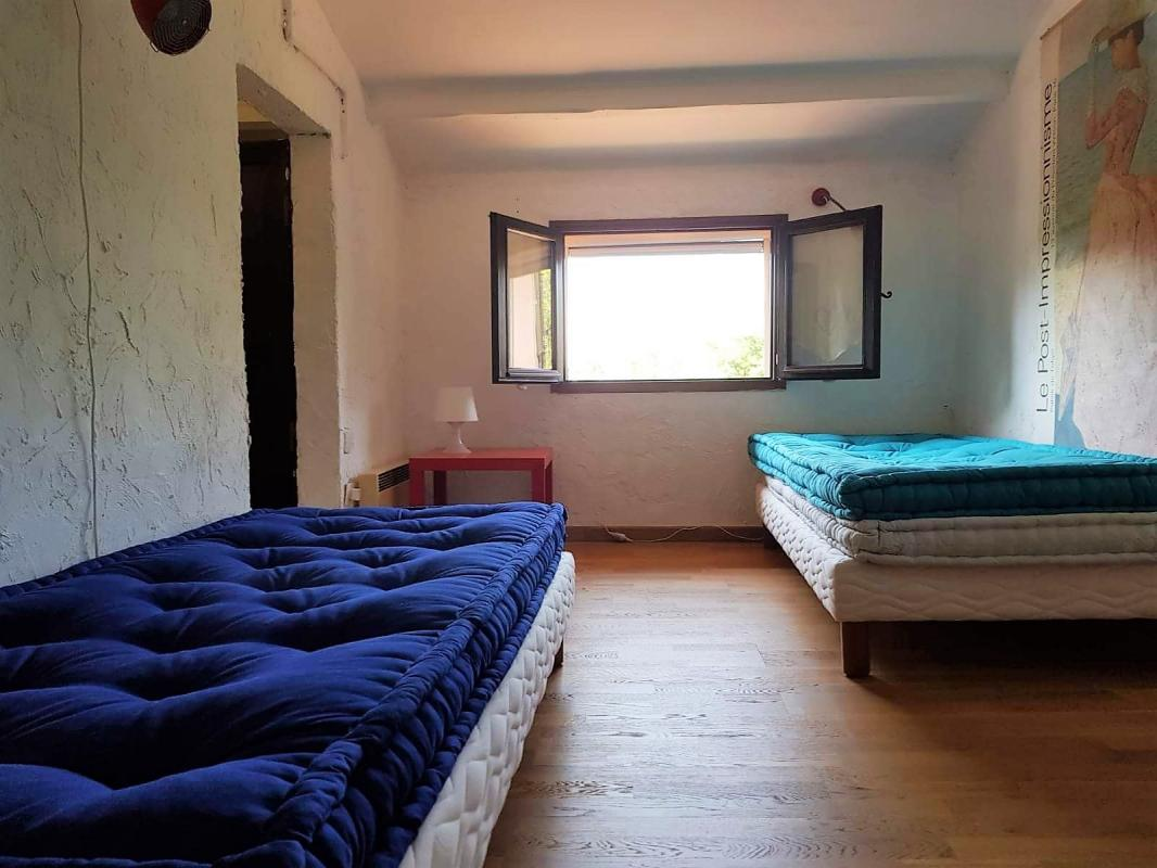 Slaapkamer eerste verdieping vakantievilla