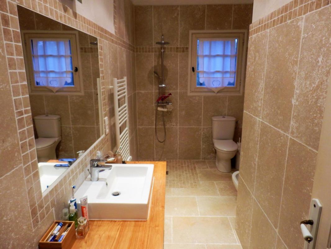 Badkamer zuidkant vakantiehuis