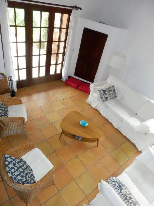 Living room holiday villa SINE TEMPORE VENCE